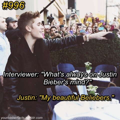 #906  Sorry i forgot to add the number of the fact on the description on my last few 'Bieber Facts' post! And sorry for number mess ups or number jumbles on some on the descriptions!