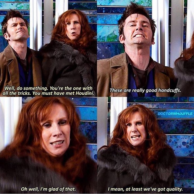doctor and donna relationship help