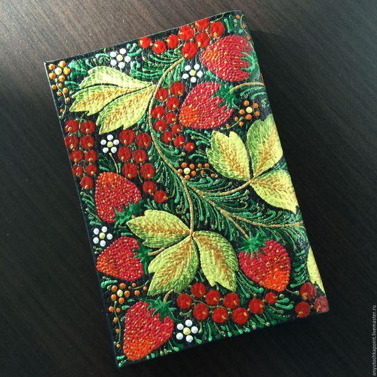 Обложка на паспорт - anyu_tochka_point (Анна)