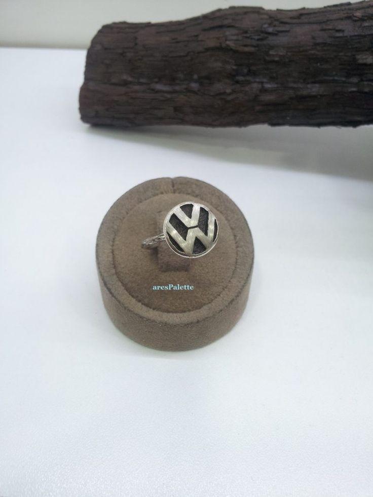 #vw #volkswagen #ring #carjewelry  http://VW ring – 925 Silver Handmade VW Jewellery