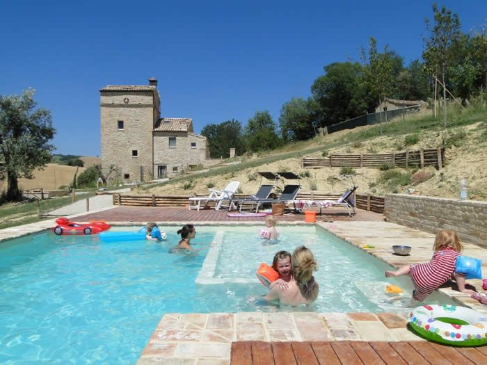 holiday villa within easy drive of the Italian Adriatic Coast