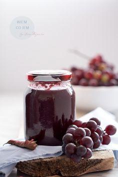 Wiem co jem: Dżem z ciemnych winogron