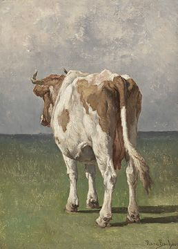 Rosa Bonheur - I would love this hanging in my living room!!: Rosa Happiness, Art Paintings Traditional, Animal Art, Paintings Of Cows, Animals Cows Etc, Kunst Art Paintings, Study, Bonheur Paintings, Cow Paintings