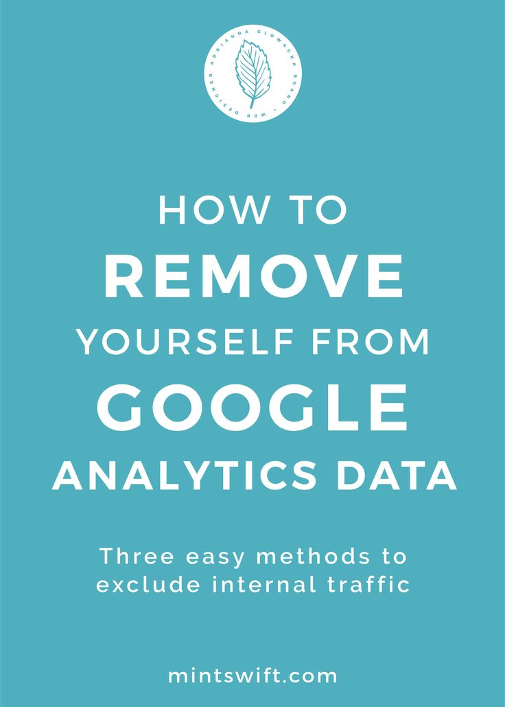 In this post, I'll show you three easy methods to remove yourself from Google Analytics data. One of the methods requires excluding your IP address from Google Analytics, the second is an exclusion setting in Google Analytics WordPress plugin and the third one is quite radical, but it works if you have a dynamic IP address (which changes every day or once a week) but it has a huge downside.