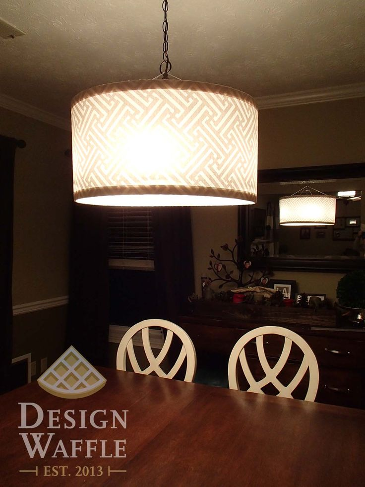 Diy Chandelier Drum Shade Super Easy Directions