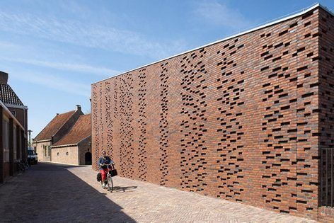 Restoration and extension Museum Nairac, Barneveld, 2013 - Van Hoogevest Architecten
