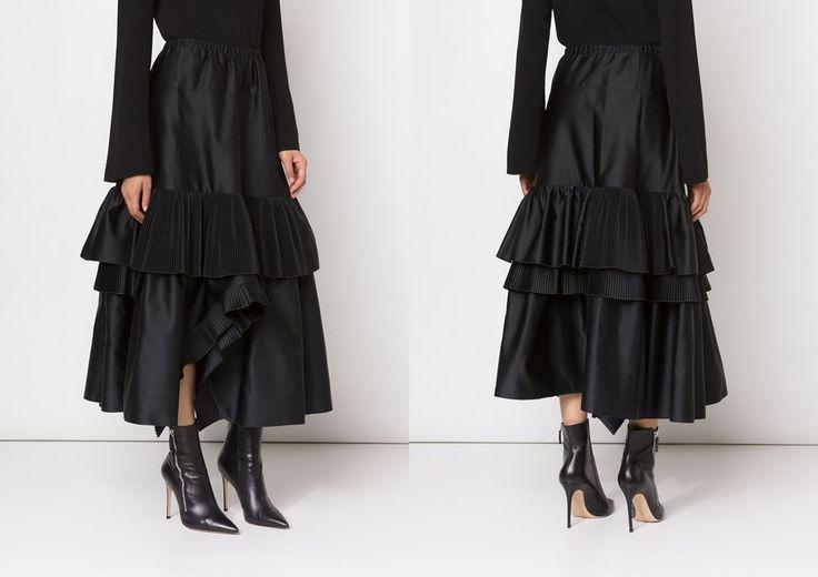 Вещь дня: многоярусная юбка No. 21 | Мода | Выбор VOGUE | VOGUE