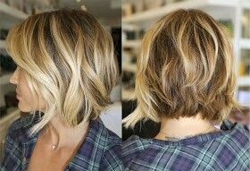 Curly Reverse Bob | Reverse Bob Wavy Pictures HD
