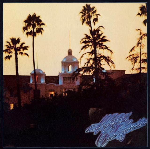 21 of the Best Album Covers of All Time: Eagles - Hotel California (1976)