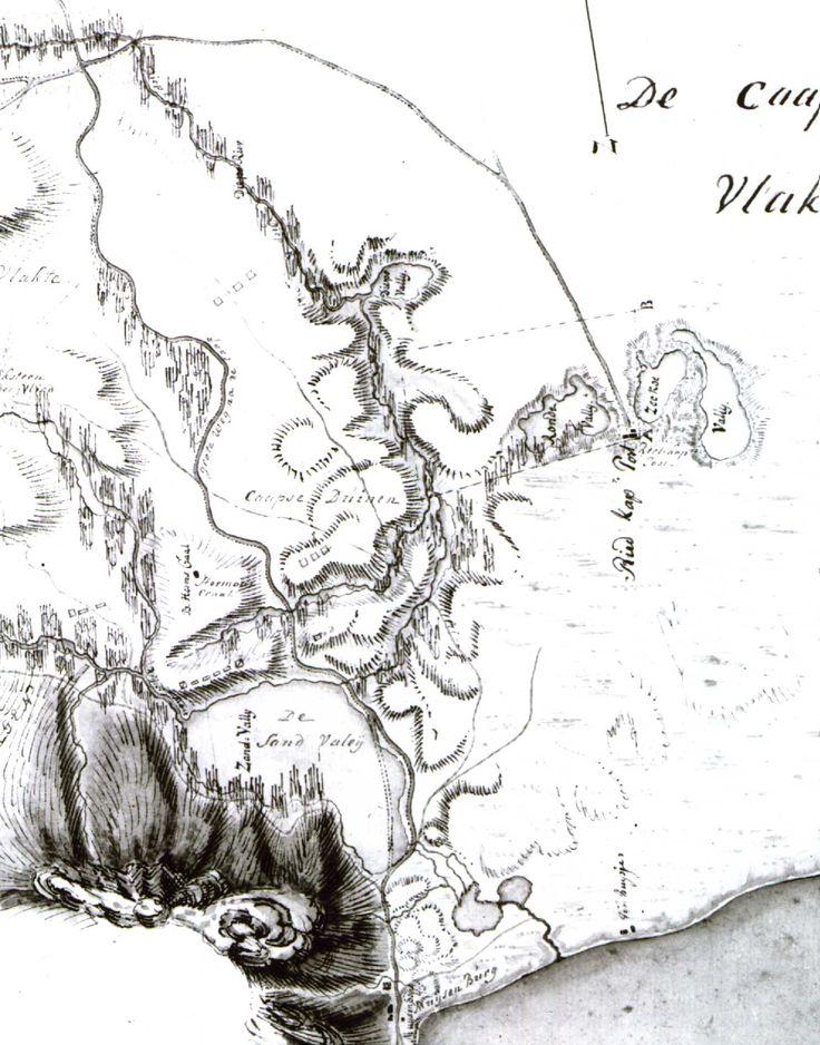 Zandvlei and environs, circa 1780