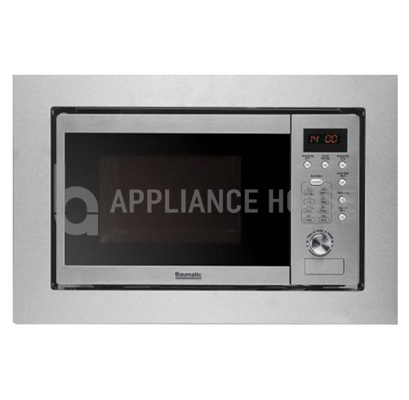 Baumatic Built In Microwave Oven Fantastic Value For Money With 8 Functions And 20 Litre Cavity Size
