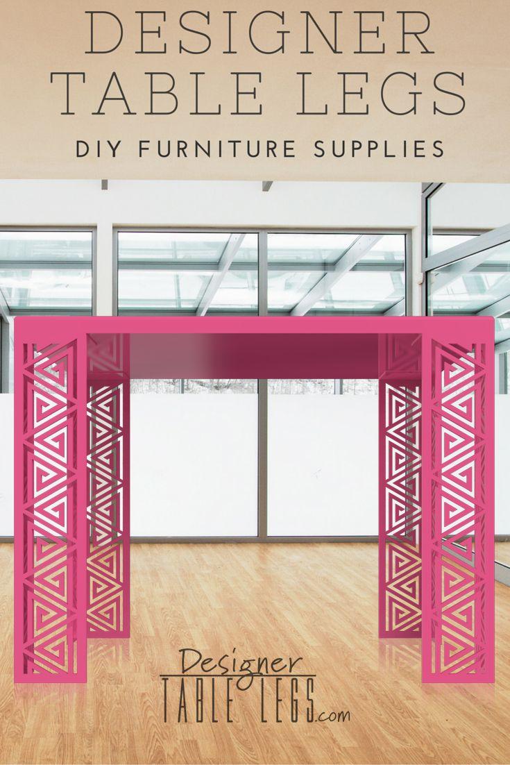 Pharaoh Spiral Pink Table Legs Diy Furniture Supplies For Tables Desks Interior Design Ikea
