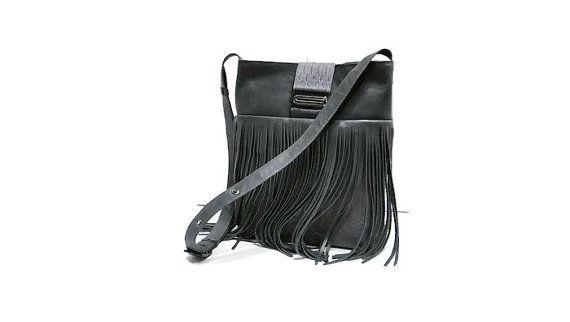 Leather shoulder bag Crossbody bag от LeatherBagsBackpacks на Etsy