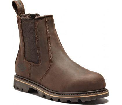 Dickies Fife Dealer Boot (Sizes 5.5-12) -  Crazy Horse Nubuck