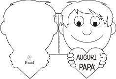 stampabili festa del papà e poesie