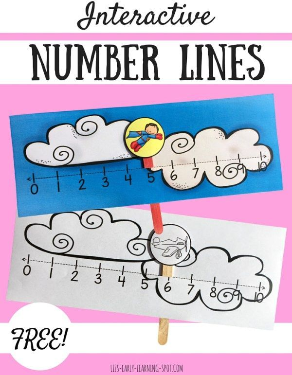 These free interactive number lines are a fun way to gain math confidence.