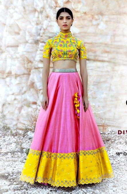 A beautiful Divya Reddy creation.