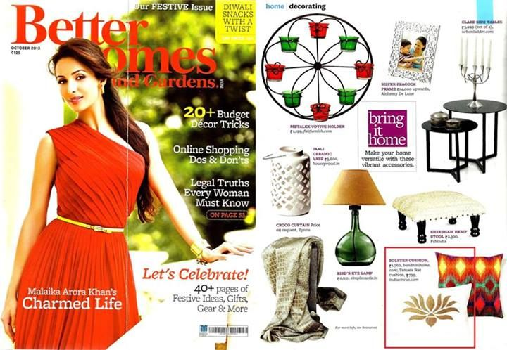 Better Homes and Gardens- Oct'13