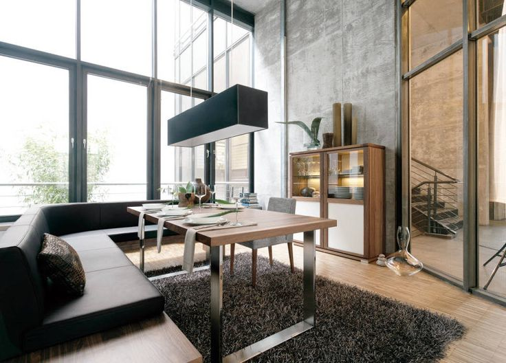 Modern Dining Room Furniture Showing the Simple Dining Room Sets