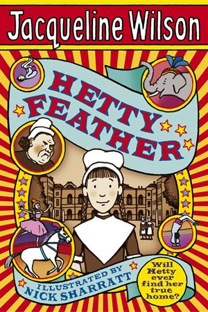 Hetty Feather  is just a really emotional book to read about hetty who is in a Foundling hospital
