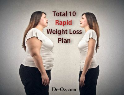 Dr. Oz's Total 10 Rapid Weight Loss Plan Results + How It Works?  Dr. Oz explain...