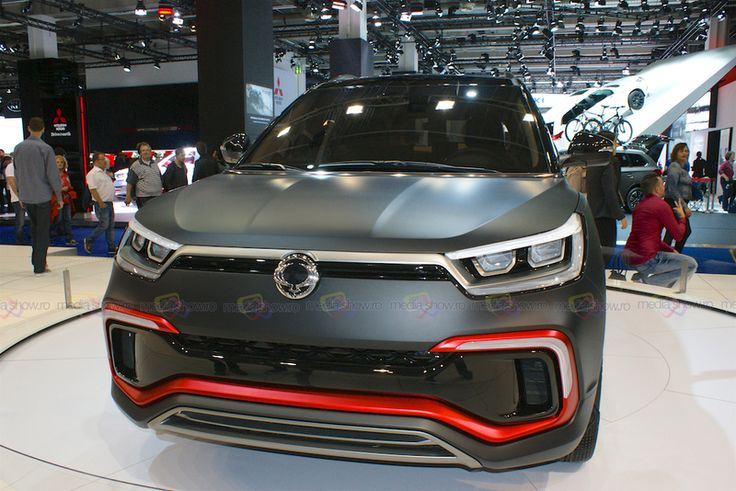 SsangYong XLV - Want to see more? Follow the link on the photo for SsangYong at IAA Frankfurt 2015!