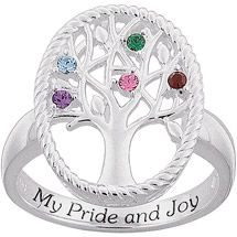 Mothers Birthstone Rings Zales