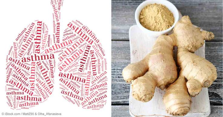 A study shows that adding ginger compounds to isoproterenol, a type of asthma medication called a beta-agonist, enhanced the bronchodilating effects. http://articles.mercola.com/sites/articles/archive/2013/11/04/ginger-benefits.aspx