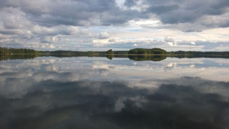 #syksy #Puruvesi #järvi #Punkaharju #Suomi #houseforsale #Finland #lake #talomyytävänä #talo