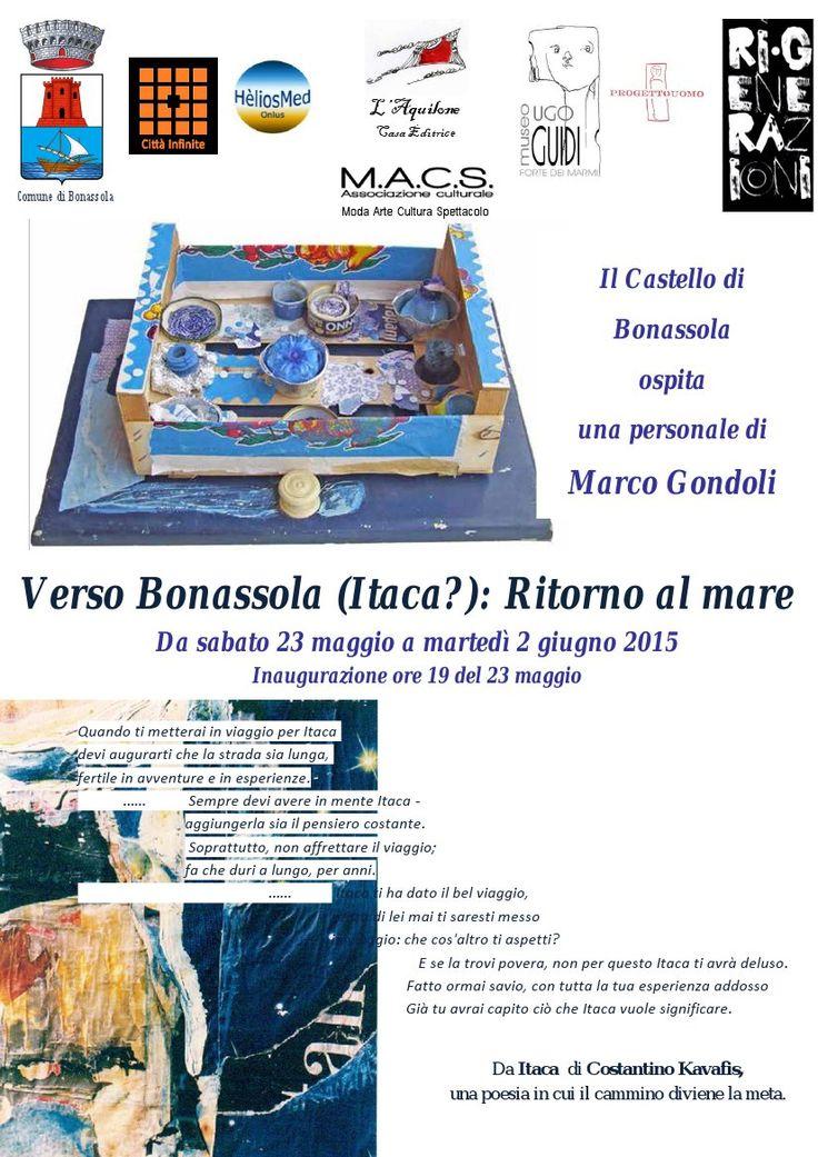 Verso Bonassola...Mostra fino al 2 Giugno