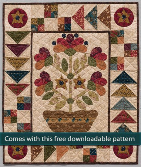 Snowball Blossoms by Kim Diehl    Kim Diehl signature style includes scrappy patchwork, beautiful applique and a stunning palette of prin...