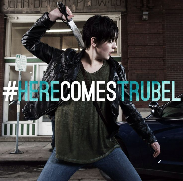Here comes Trubel. Anyone else love this character ?