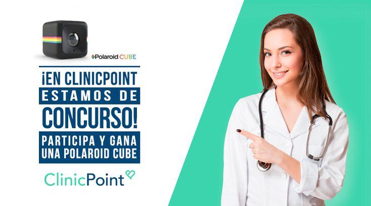 ¡Contestando este trivia de ClinicPoint puedes ganar una cámara Polaroid Cube!
