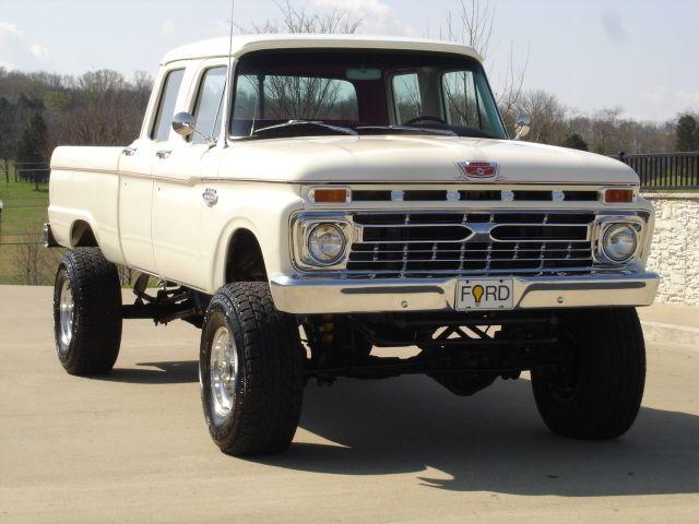 1966 Ford F-250 CREW CAB | Vintage Ford Pickup Trucks | Pinterest | Trucks, Ford trucks and Ford