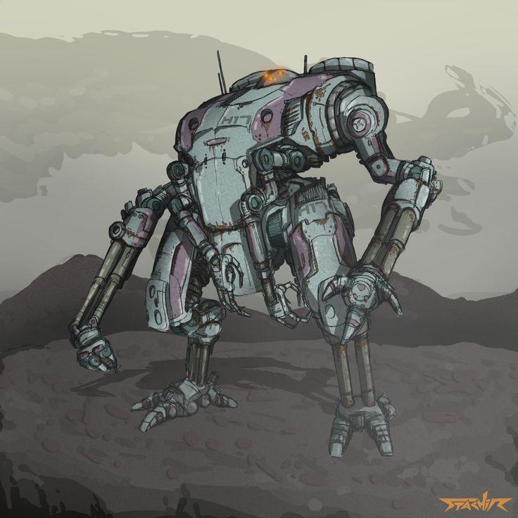 H17 Mech my robot design