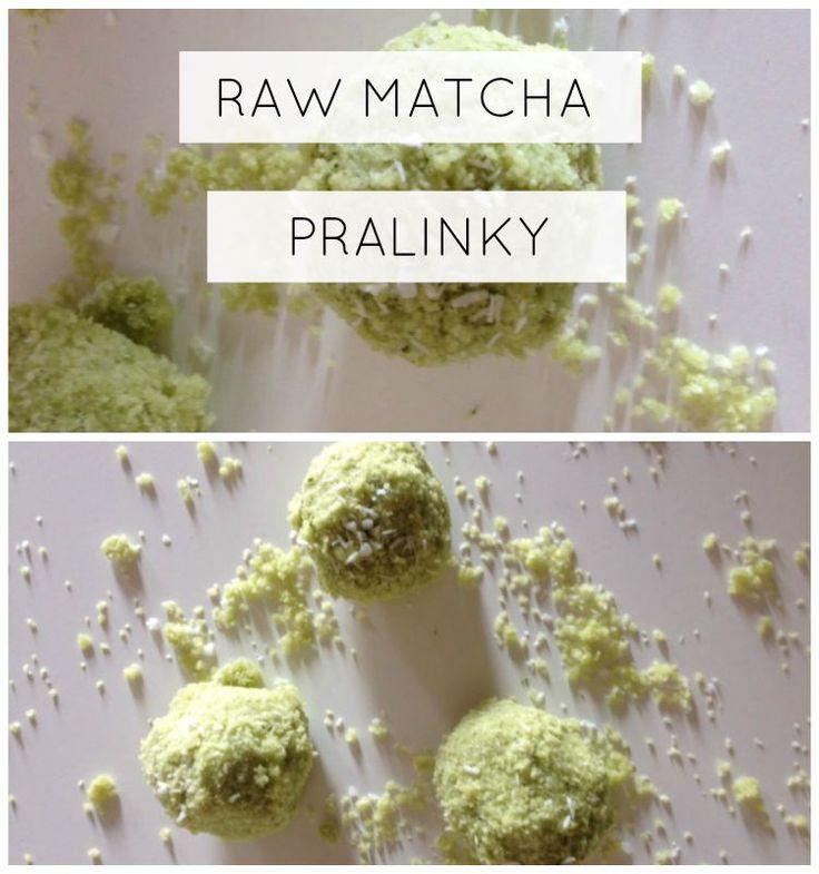 MATCHA PRALINKY http://www.julietta.cz/zdrave-recepty01-matcha-pralinky/