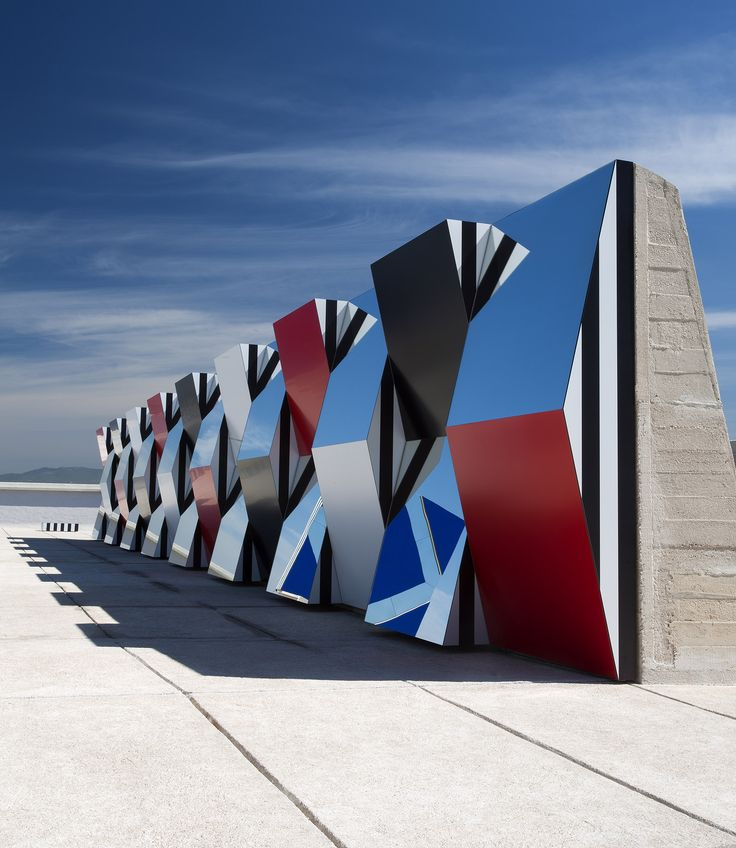 DÉFINI, FINI, INFINI par Daniel BUREN x MAMO - DECO-DESIGN - Blog Design / Magazine Décoration, Architecture & Design