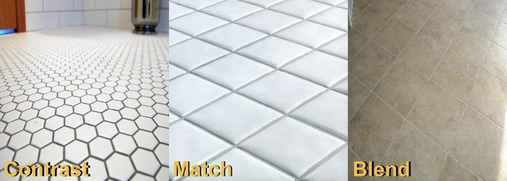 Use this simple step to pick the right grout color for you at http://www.groutrhino.com/how-to-pick-grout-color/