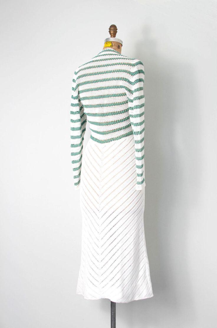 18 best 1930s crochet chevron dress images on Pinterest | 1930er ...