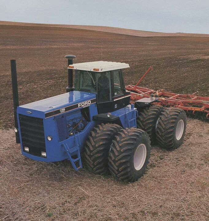 Big Ford Tractors : Best ford tractors images on pinterest old