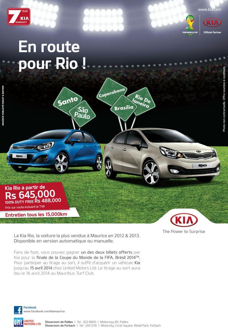 KIA Rio World Cup promo