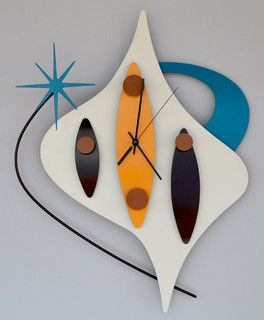 mod clocks - midcentury - clocks - las vegas - by Stevotomic