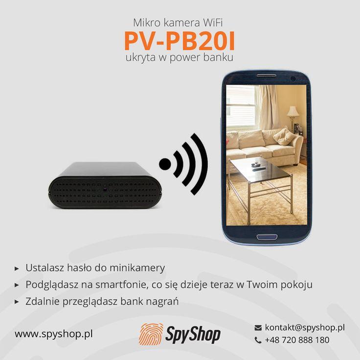 Dzięki power bankowi z minikamerką, o którym napisał CHIP.PL, nie tylko naładujesz swojego smartfona, ale także zdalnie zobaczysz, co się dzieje w Twoim pokoju pod Twoją nieobecność.  http://www.chip.pl/news/bezpieczenstwo/monitorowanie-i-szyfrowanie-danych/2016/12/powerbank-z...-kamera/