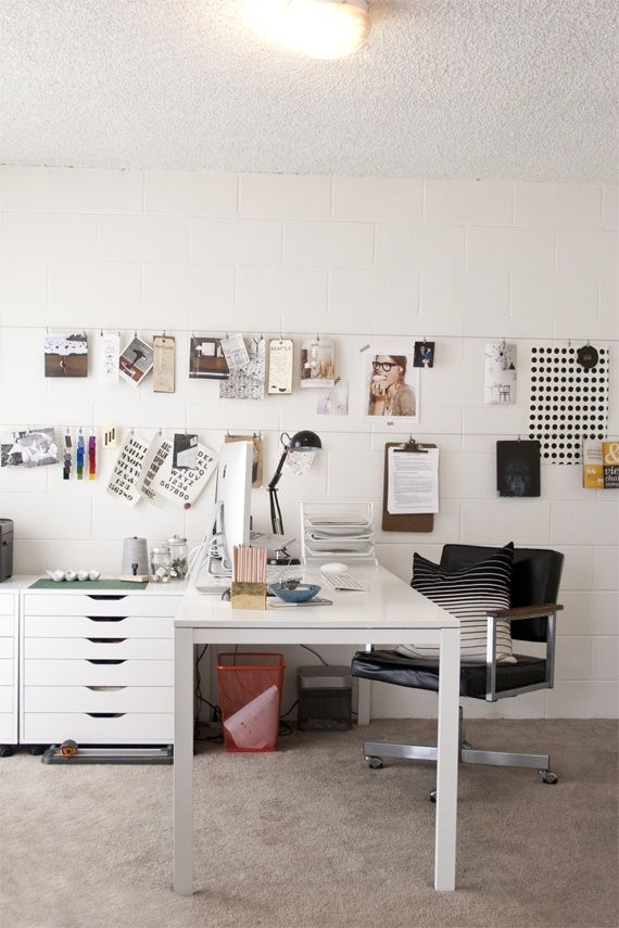 wall hangings: Ideas, Lindsay Stetson, Workspace, Office Design, Stetson Thompson, Home Offices, Theglitterguide With