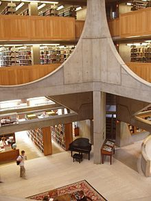 Phillips Exeter Academy Library, Louis Khan