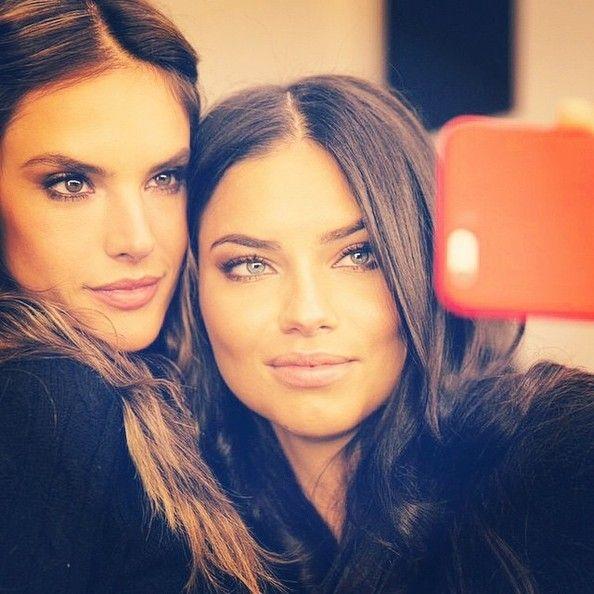 Alessandra Ambrosio and Adriana Lima Take a Gorgeous ...