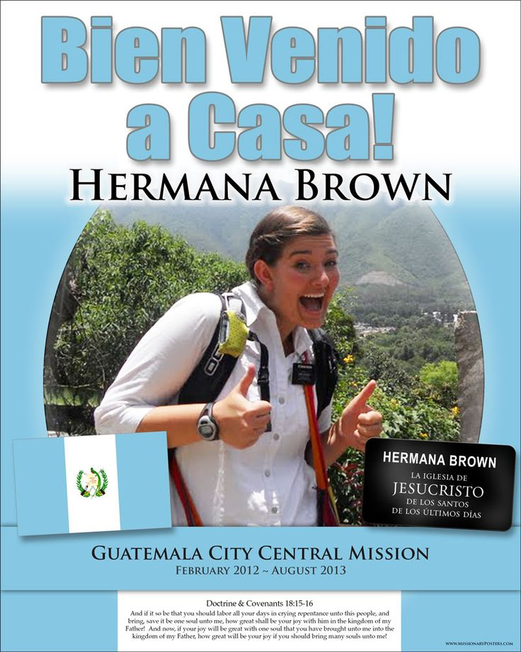 9 best Missionary Calendars and Posters images on Pinterest ...