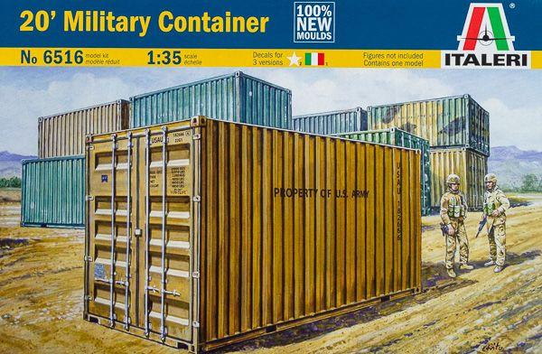 Internet Modeler Italeri 1/35 20' Military Container