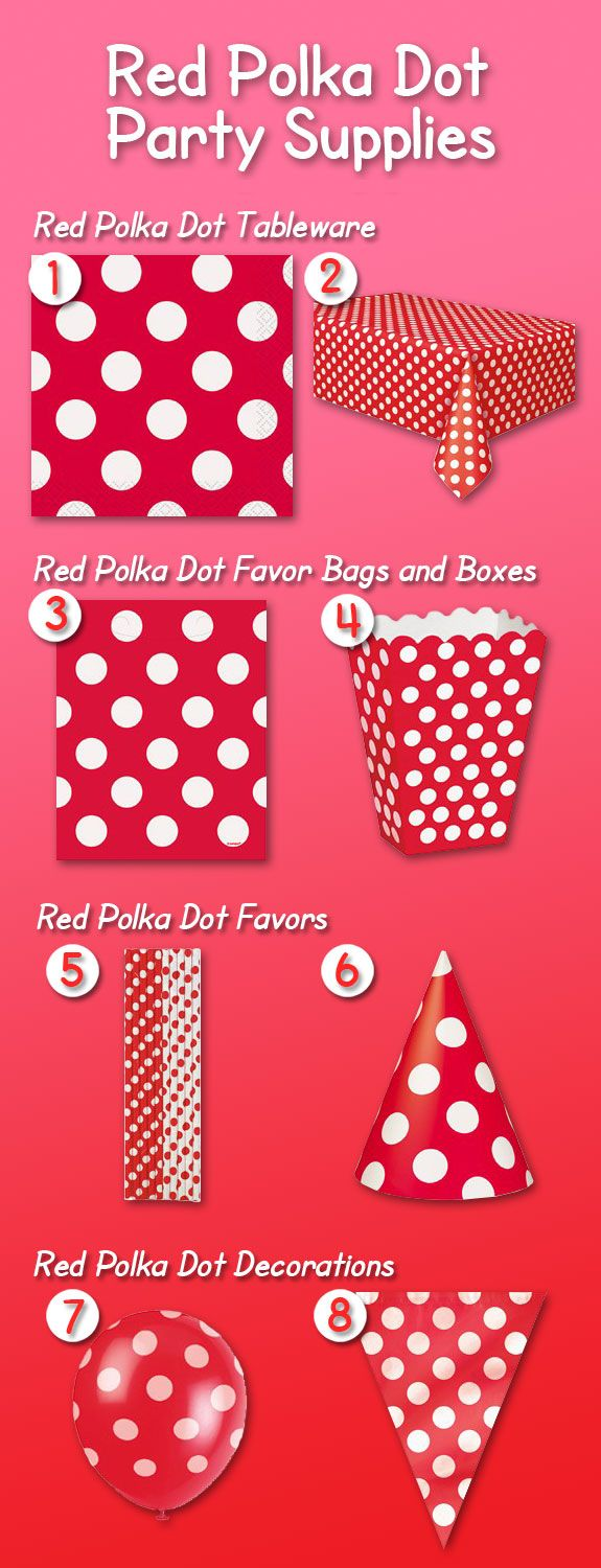 34 best avengers birthday party images on pinterest for Polka dot party ideas