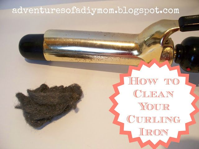 Adventures of a DIY Mom: How to Clean Your Curling Iron